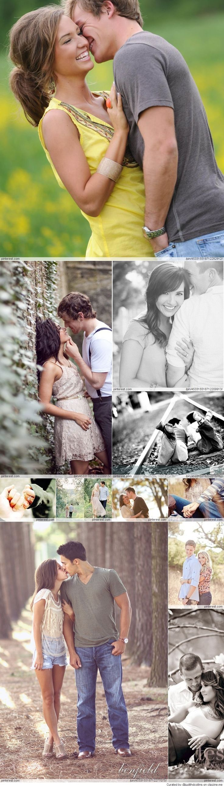 Engagement Photography- minus the railroad one these are all cute