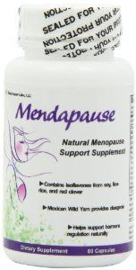 Amazon.com: Mendapause 12 Ingredient Menopause Supplement for Hot Flashes, Night Sweats, and Mood Swings: Health & Personal Care