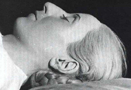 Even in death, Evita is uncomfortably lifelike. She is effectively a wax figure after the mummification process replaced all water in the body with wax.