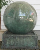 GRC water feature, fountains and urns melbourne wholesale sphere fountain