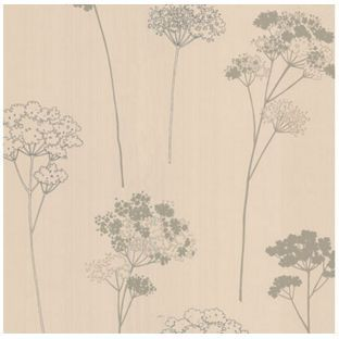 Dulux Meadowsweet Wallpaper - Vanilla from Homebase.co.uk