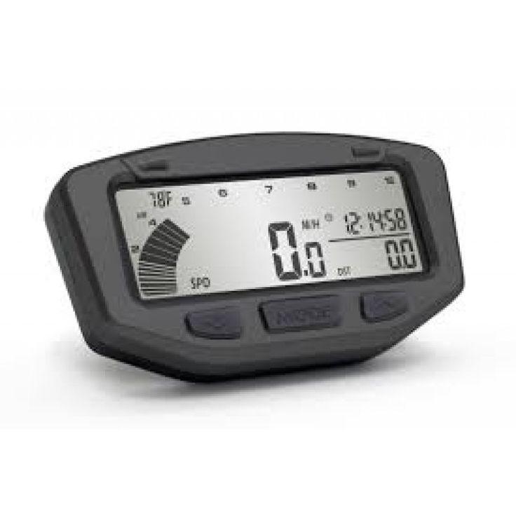 Custom Honda Ruckus Parts Trail Tech Vapor Speedometer/Tachometer (STEALTH BLACK)