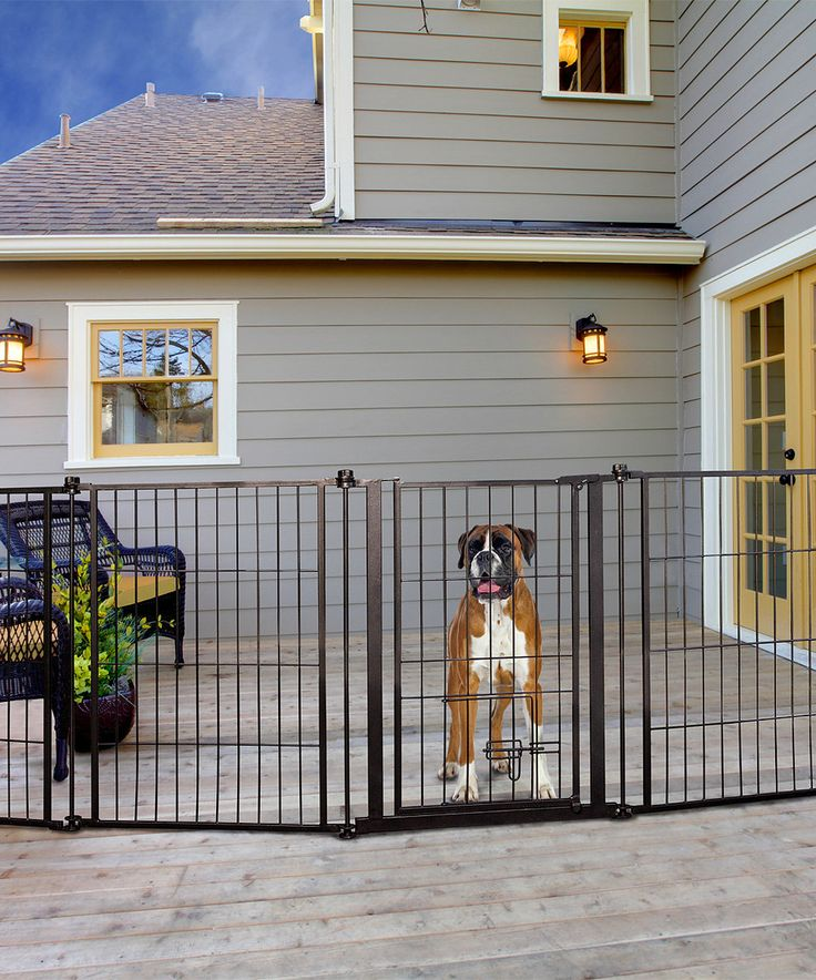 Look what I found on #zulily! Indoor/Outdoor Extra Long Configurable Pet Gate by Carlson Pet Products #zulilyfinds
