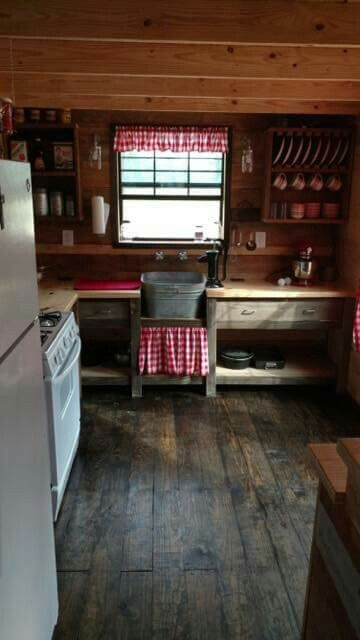 Best 25 small cabin kitchens ideas on pinterest rustic for Tiny house payment plan