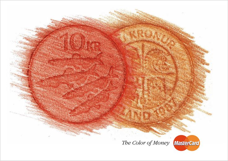 MasterCard ad - Color of money