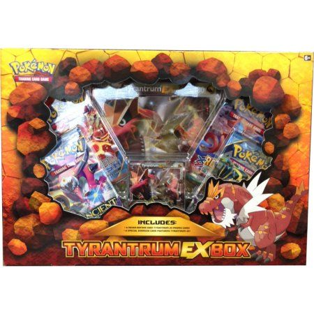 Pokemon Tyrantrum-EX Box, Multicolor