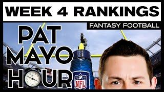 2016 Fantasy Football Week 4 Rankings Debate: Starts, Sits, Sleepers
