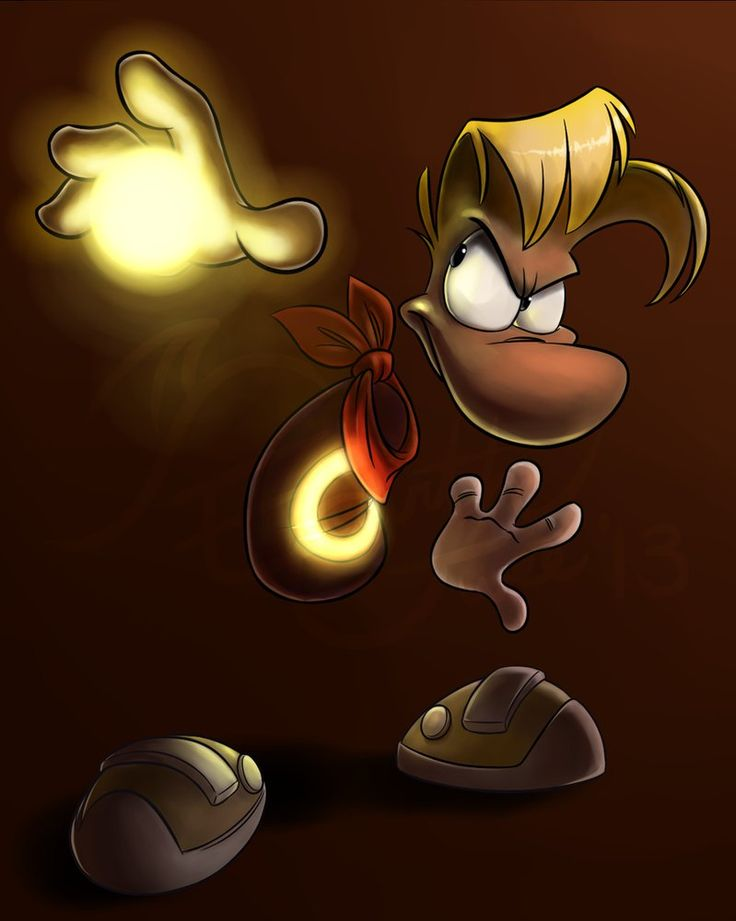 ROTD - Rayman's Power by EarthGwee on DeviantArt