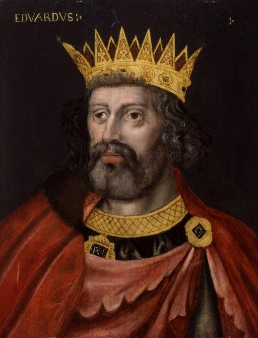 This is Edward II, Plantagenet (often misidentified as Henry III)  King Edward's drooping eyelid is clearly illustrated.