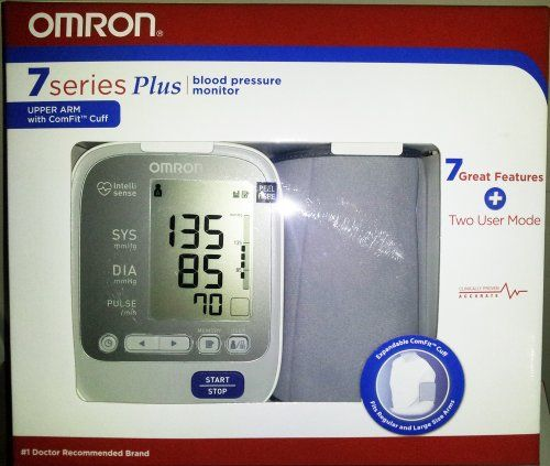 Omron BP762 7 Series Plus Upper Arm Blood Pressure Monitor + 2 User Mode better than BP760 at http://suliaszone.com/omron-bp762-7-series-plus-upper-arm-blood-pressure-monitor-2-user-mode-better-than-bp760/