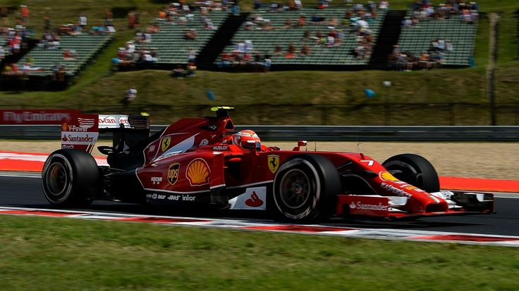 Kimi Räikkönen (Ferrari) : Grand Prix de Hongrie 2014 - Formule 1 - Eurosport