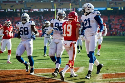 Colts vs Chiefs ; client Teddy Williams