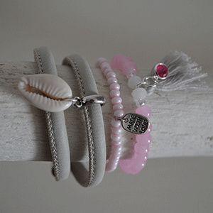 Armbandensetje pink