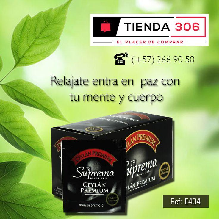 Excelente para tu salud – Tè Supremo Ref.: E404 📞 320 574 96 98 Ver Más: http://bit.ly/2ns4Xnb