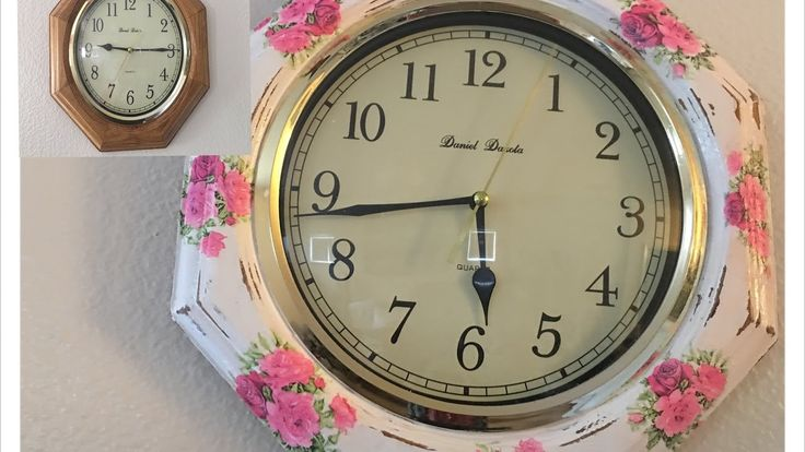 Diy:renovacion de reloj de pared