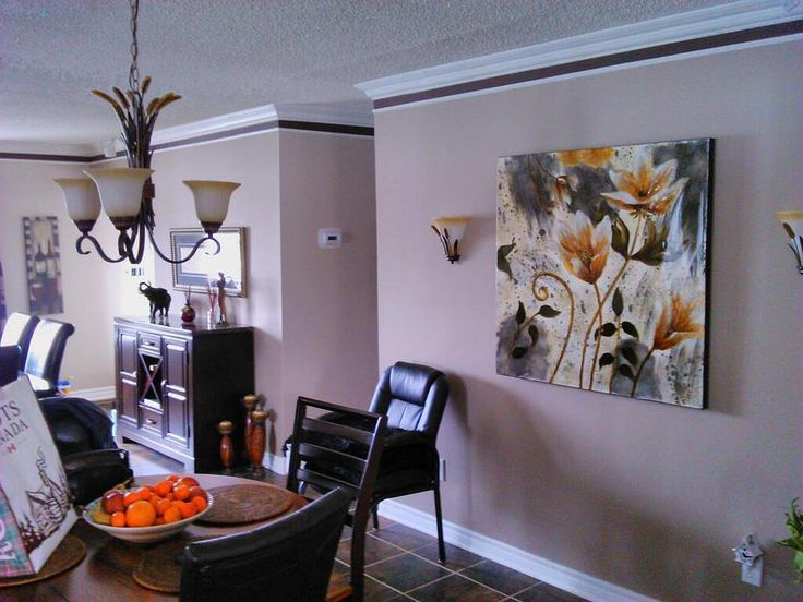 Interior painting, after