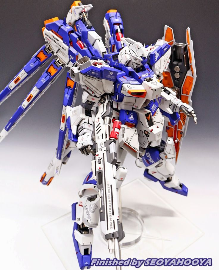 GUNDAM GUY: 1/72 RX-93 Hi-Nu Gundam - Customized Build