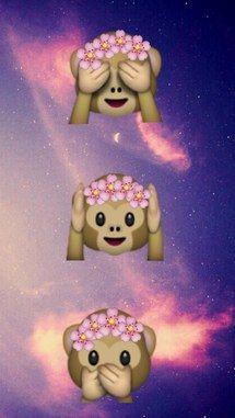 emoji, wallpaper iphone, ipod, galaxia, wallpapers                                                                                                                                                                                 Más