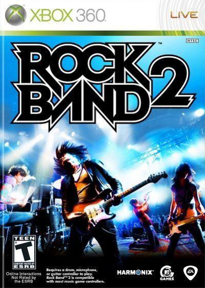 Rock Band 2 permite a los jugadores consolidarse como algunos de los mejores guitarristas, bajistas, baterías y cantantes de todos los tiempos.    Rock Band 2 se ofrece como el mejor y más ambicioso juego de música creado hasta la fecha – según rockeros líderes con la guitarra, bajistas, baterías y voces pulidas, dinamizadas y supone una increíble y divertida experiencia desafiante para todo el mundo. Rock Band 2 pone al alcance una lista de canciones que hace temblar al resto de juegos…