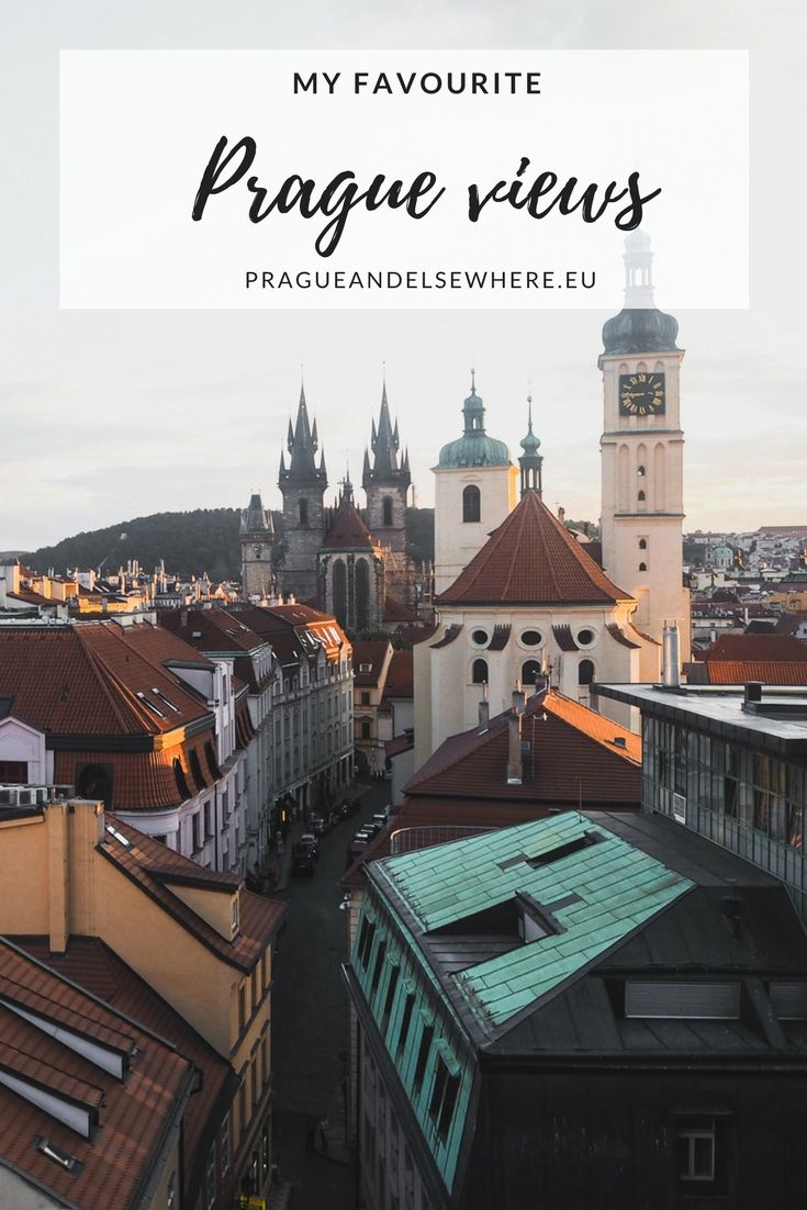 Best views of Prague, Czech Republic | Things to do in Prague | Prague Travel Tips #prague #czechrepublic