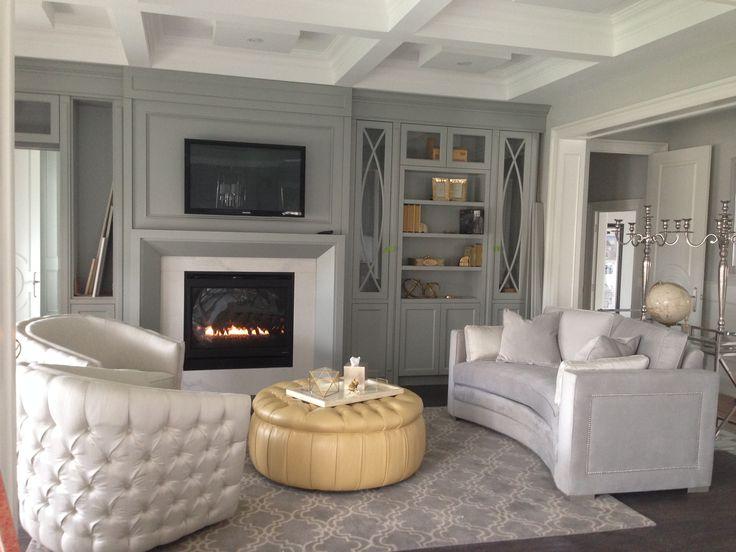 Kleinburg Model Home Living Room | Abbeville Model Home ...