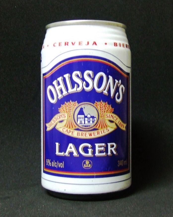 Lata de Ohlsson's Lager