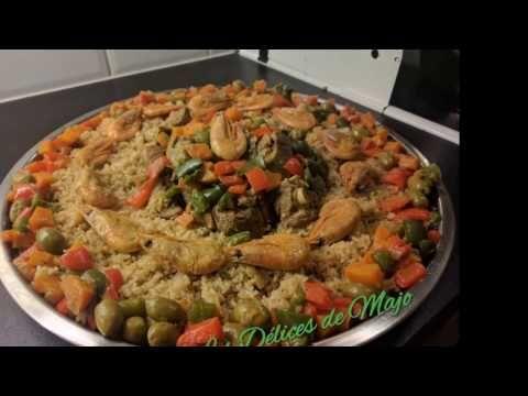 Thiebou yapp, riz gras à la viande.