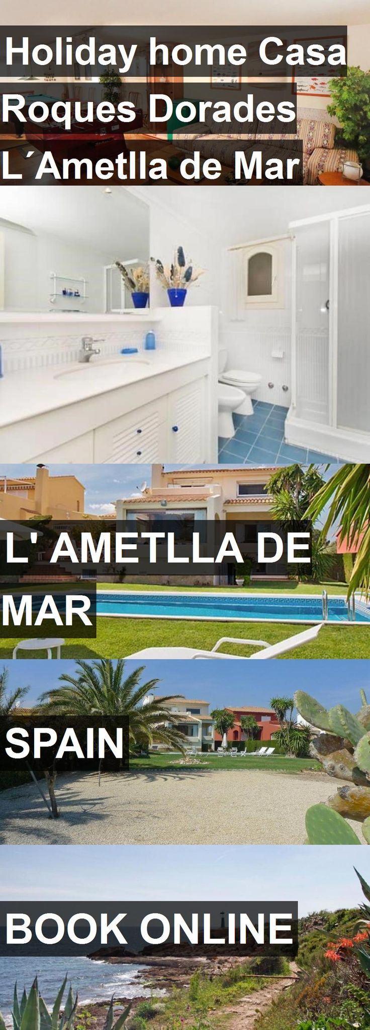Hotel Holiday home Casa Roques Dorades L´Ametlla de Mar in l' Ametlla de Mar, Spain. For more information, photos, reviews and best prices please follow the link. #Spain #l'AmetlladeMar #travel #vacation #hotel