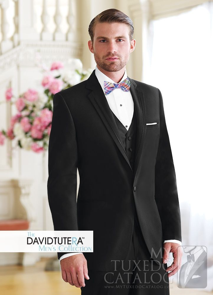Asheville Tuxedo by Mitchell's - 'Celebration' - Black - David Tutera Men's Collection - Slim Fit