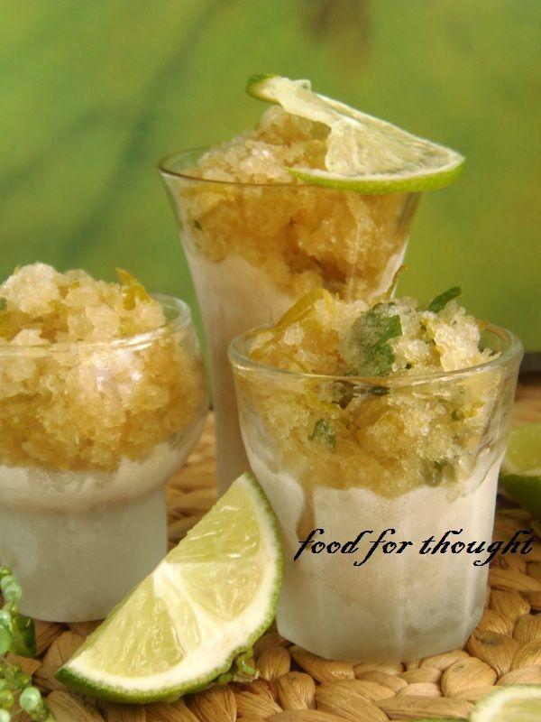 Σορμπέ μοχίτο!!!!!!!!!!! Το απόλυτο!!!!!!!  Δεν υπάρχει καλύτερο καλοκαιρινό δροσιστικό μετά το φαγητό!  Από το blog Pepi's Kitchen.  http://laxtaristessyntages.blogspot.gr/2013/08/mojito-sorbet.html