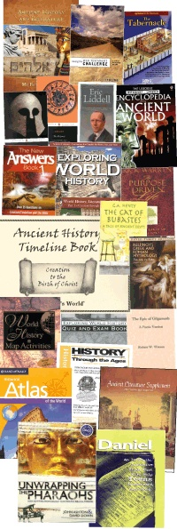 My Father's World - Ancient History - 9th Grade Home School Curriculum, like most of these... have used a few for 6th.