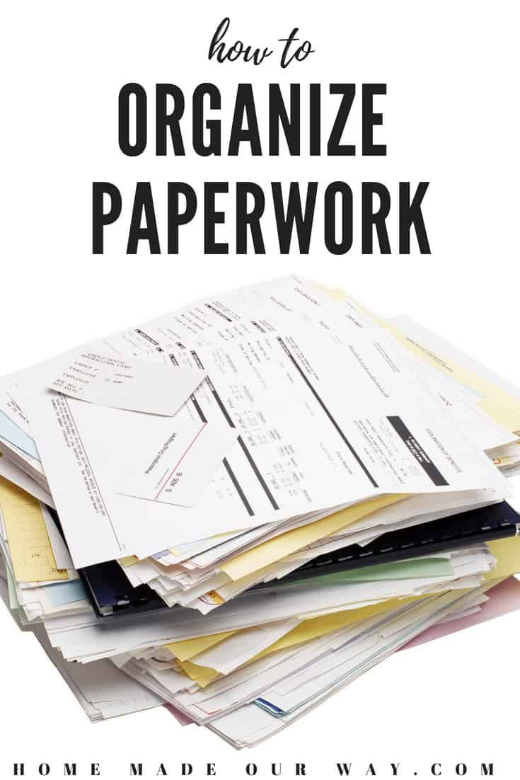 Paperwork Organization How To Declutter And Organize Your