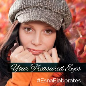 As we get older, the skin around our eyes thin and then we develop crow's feet, dark circles and puffiness. #EsnaElaborates