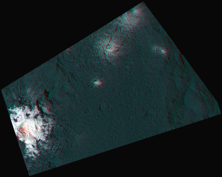 Cryovolcanism on Dwarf Planet Ceres - Astrobiology Magazine