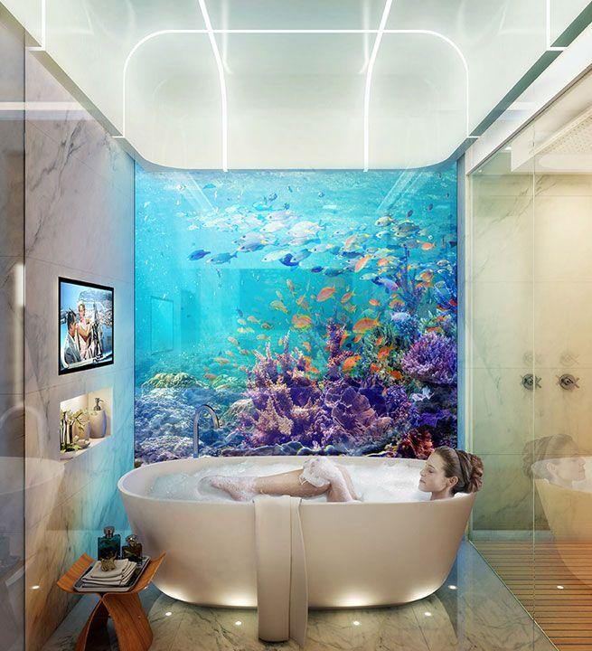 Projekt TheFloating Seahorse: Luxuriöse Unterwasser Hotels in Dubai