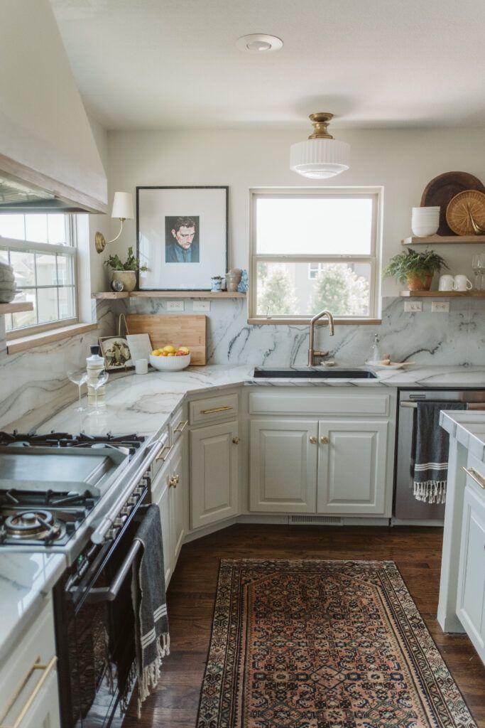 One Room Challenge Spring 2020 Week 8 Reveal Kitchen Interior Kitchen Inspiration Modern Eclectic Kitchen