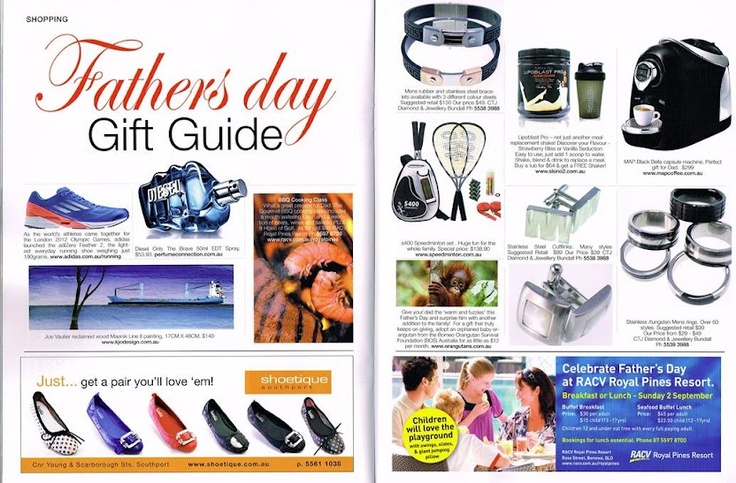 Map's black Bella machine was featured in Get-It Magazine as a great Father's Day gift option! #getitmagazine  #mapcoffee #coffee