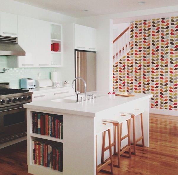80 best kitchen backsplash: tiles & wallpapers images on pinterest