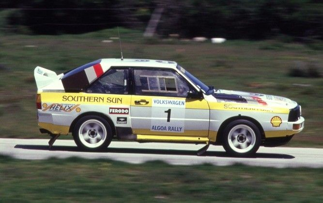 From The Archives: Audi Sport Quattro Group B - CARmag.co.za  For many enthusiasts the golden era of rallying was the 80s, marked by the arrival of the technologically advanced Group B formula. The car that arguably started the Group B war was Audi's...