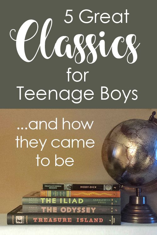 5 Great Classics for Teenage Boys and How They Came to Be