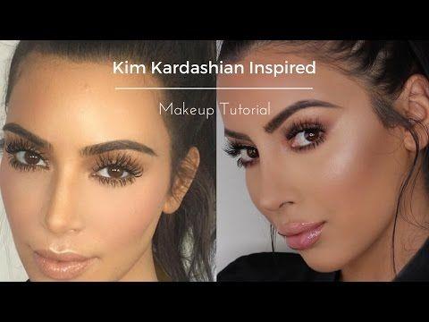Kim Kardashian Makeup Tutorial - YouTube