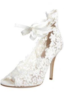 Lace shoes, chaussures dentelle