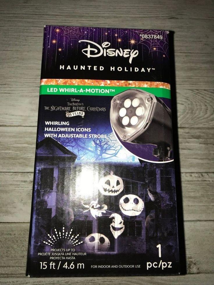 Disney Jack Skellington WhirlAMotion Projector Light NEW