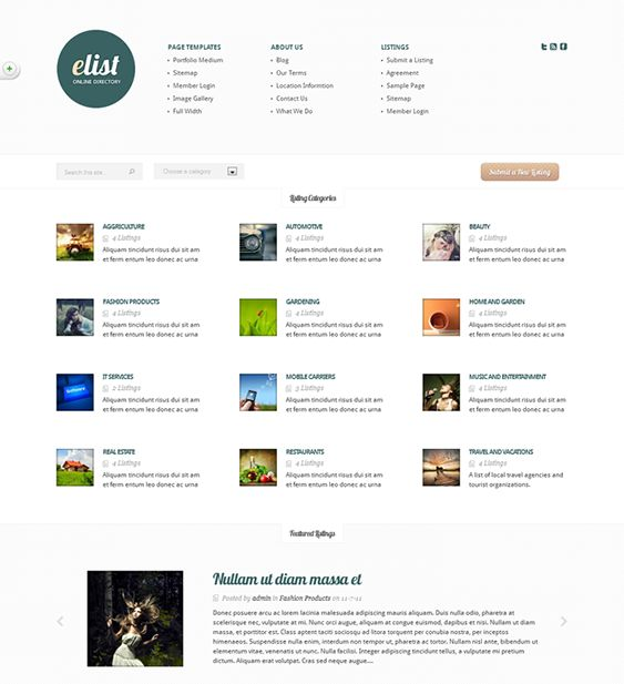 9 best 9 of the best directory listings wordpress themes images on