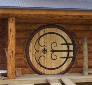 designing a round door - hobbit house style (wheaton laboratories forum at permies)