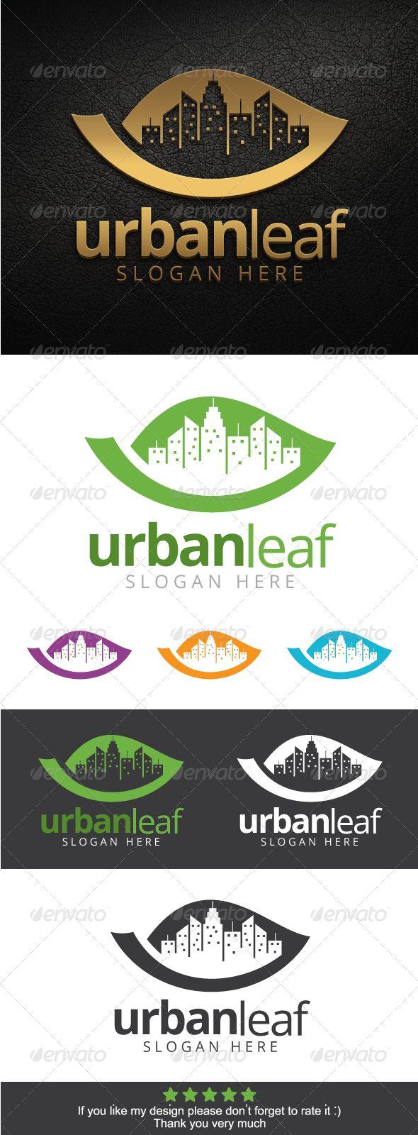 Urban Leaf Logo Template