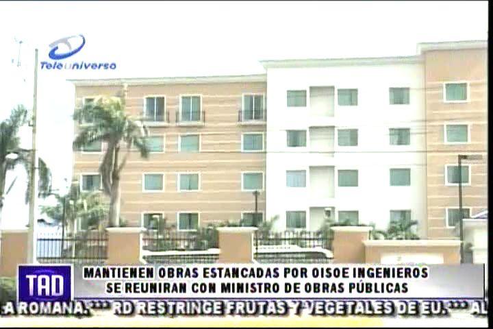 Mantienen Obras Estancadas Por OISOE Ingenieros Se Reuniran Con Ministro De Obras Públicas #Video