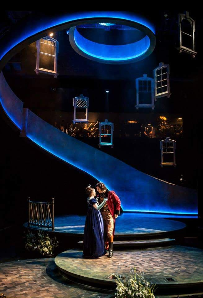 fyeahsetsandprops:   Sense and Sensibility  (Chicago Shakespeare Theatre)  Set Design by Kevin Depinet