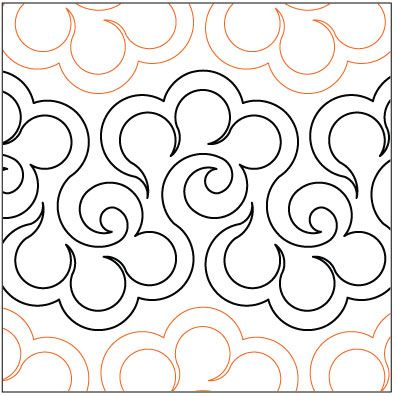 332 best Free Motion Quilting Techniques images on Pinterest ... : free quilting pantographs - Adamdwight.com