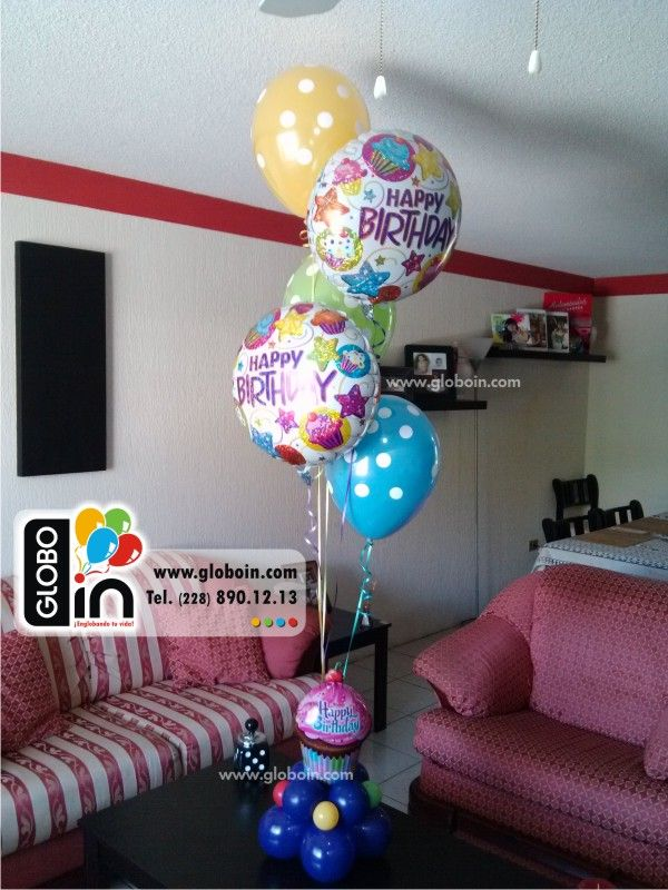 15 best images about decoracion con globos en xalapa on - Adornos con globos para cumpleanos ...
